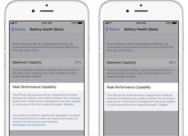 Apple a lansat iOS 11.3. Noi optiuni pentru gestionarea performantei telefonului si a datelor personale