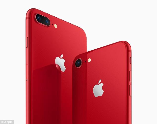 Apple lanseaza in editie limitata versiunea iPhone 8 si 8 Plus Red. Banii vor fi donati in scop caritabil