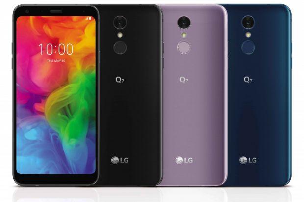 LG a prezentat trei noi modele de smartphone mid-range: Q7, Q7+ si Q7alfa