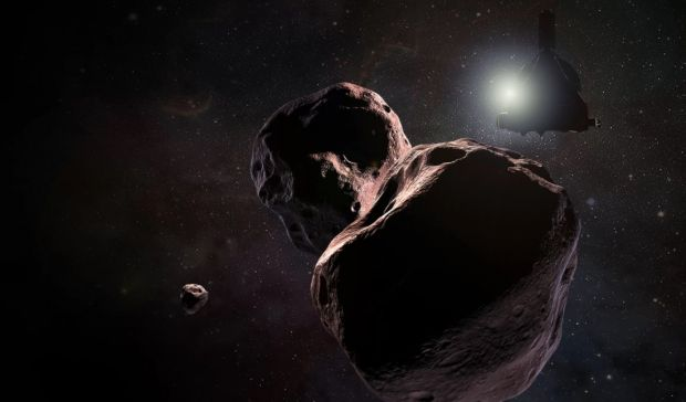 Sonda New Horizons va survola Ultima Thule, un corp ceresc aflat la miliarde de kilometri distanta