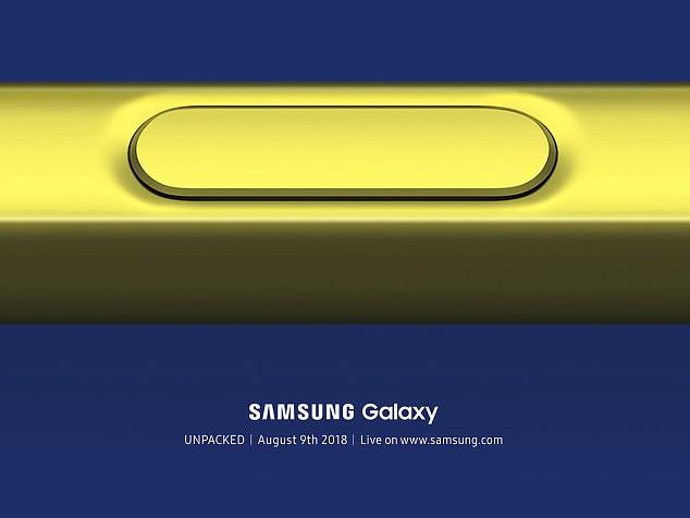 Samsung pregătește lansarea noului phablet Galaxy Note 9. Când va avea loc evenimentul