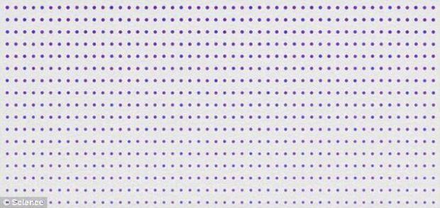 Ce culoare au punctele din imagine? O nouă iluzie optică arată cât de ușor putem fi păcăliți