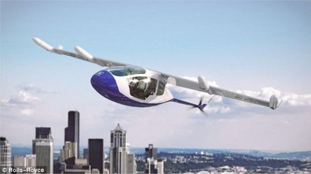 Primele taxiuri zburătoare vor decola în curând! Proiectul Rolls Royce este aproape gata