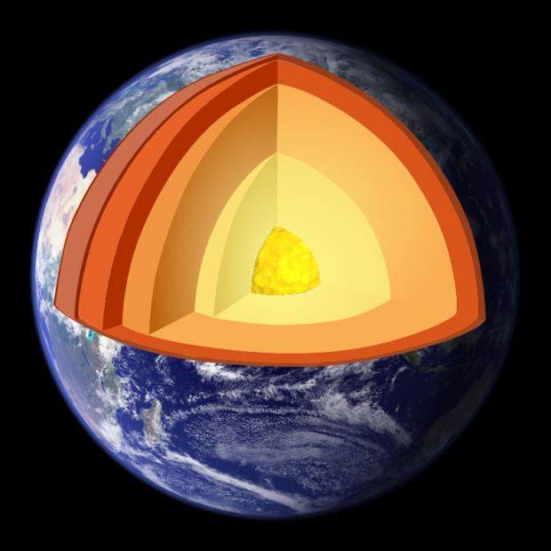 O comoară uriașă se află sub scoarța terestră! Ce-au descoperit cercetătorii în interiorul Pământului