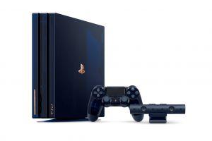 Sony lansează ediția limitată a consolei PS4 Pro cu design special: PlayStation4 Pro 500 Million