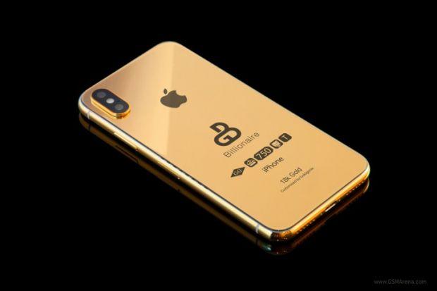 Preț fabulos! Cât costă un Galaxy Note 9 și un iPhone X 2018 placate cu aur?