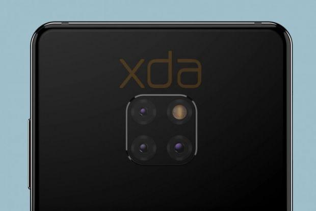 Primele imagini cu Huawei Mate 20! Schimbare inedită de design la modulul camerei