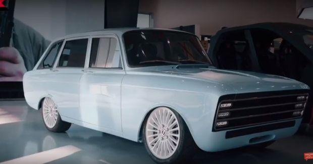 Kalashnikov a prezentat o mașină electrică. Modelul seamănă cu Lada și vrea să rivalizeze cu Tesla