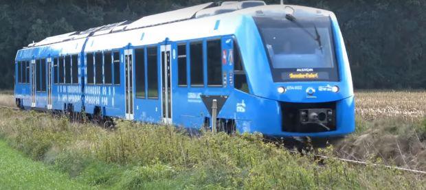 Primele trenuri alimentate cu hidrogen au început să circule în Germania