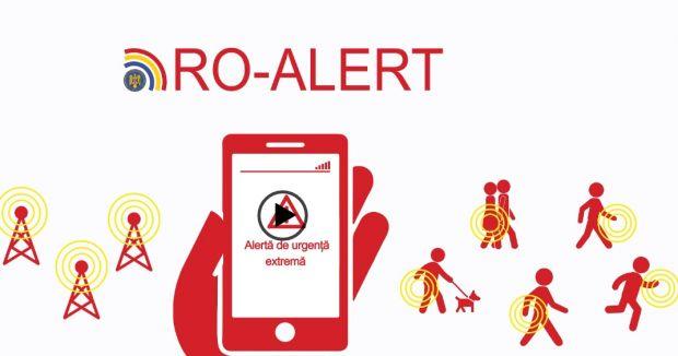 Inspectoratul pentru Situaţii de Urgenţă a început testarea sistemului de avertizare RO-ALERT