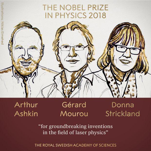 A fost decernat Premiul Nobel pentru Fizică. Pentru a treia oară în istorie, o femeie se numără printre laureați