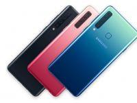 Samsung a prezentat primul smartphone din lume cu o cameră foto cvadruplă: Galaxy A9