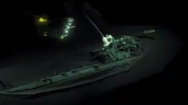 Cea mai veche epavă din lume a fost descoperită în Marea Neagră