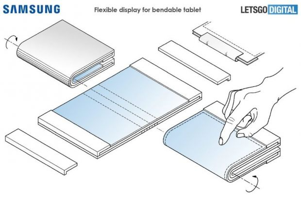 După telefonul pliabil Galaxy F, Samsung va lansa și o tabletă cu ecran flexibil