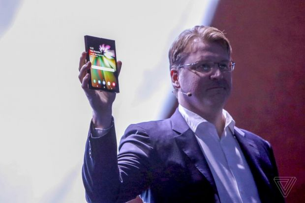 Samsung a prezentat Infinity Flex Display, smartphone-ul care se pliază