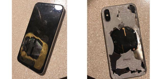 Nu ne așteptam la așa ceva! Ce s-a întâmplat cu acest iPhone X după un upgrade de sistem