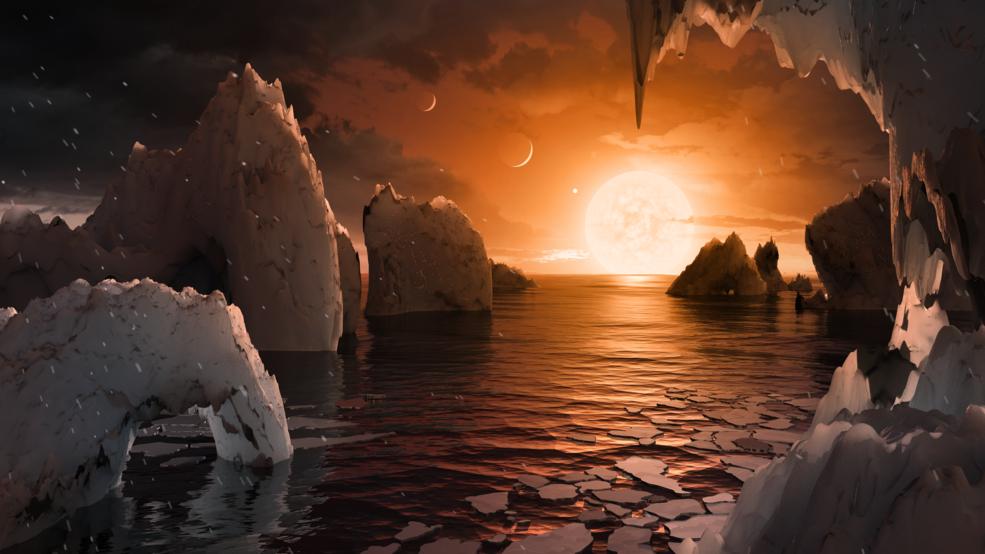 Concluzie neașteptată a cercetătorilor: poate exista viață pe o planetă de pe orbita TRAPPIST-1