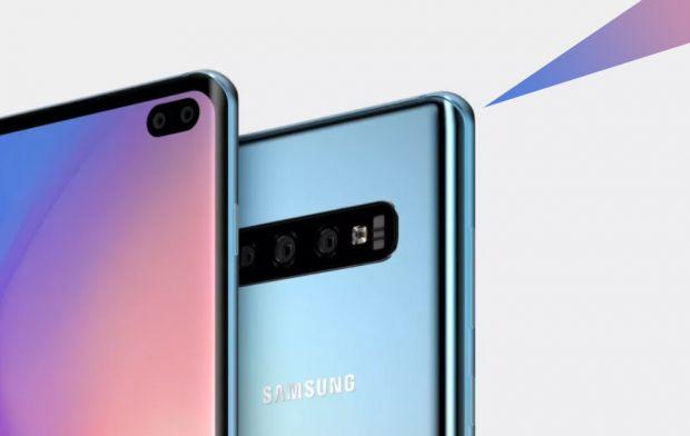 Primele imagini apărute pe internet cu viitorul Samsung Galaxy S10 Plus