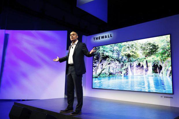 Inovația deosebită pe care o aduce The Wall, cel mai mare televizor din lume