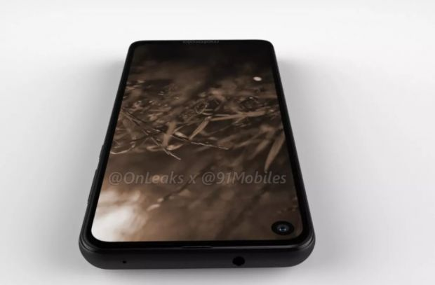 Primele imagini cu Motorola P40, un nou smartphone cu ecran Infinity-O