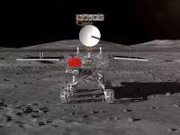 Primele imagini surprinse de pe fața nevăzută a Lunii, trimise de sonda Chang e 4