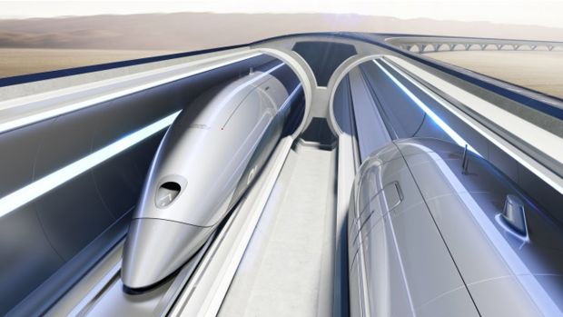 Un tren ultrarapid Hyperloop va circula de anul viitor în Emiratele Arabe Unite