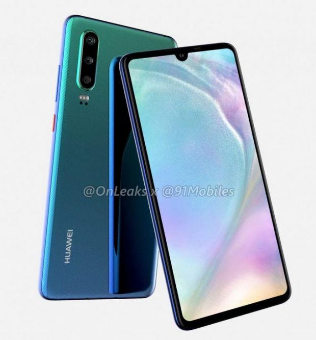 Noua serie Huawei P30 va avea un design diferit! Specificații impresionante pentru modelul premium