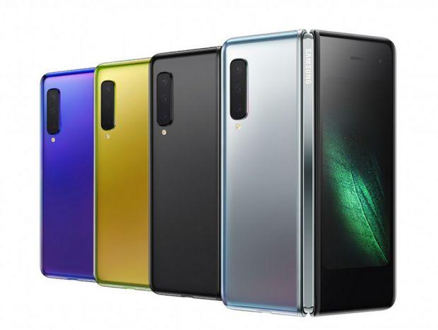 Samsung a lansat telefonul pliabil Galaxy Fold. Ce specificații are modelul care costă 2.000 de euro