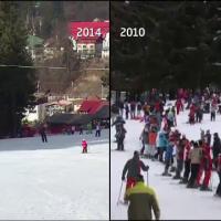 Cel mai slab sezon turistic la munte din ultimii 10 ani. Cat ii costa zilnic lipsa zapezii pe hotelieri